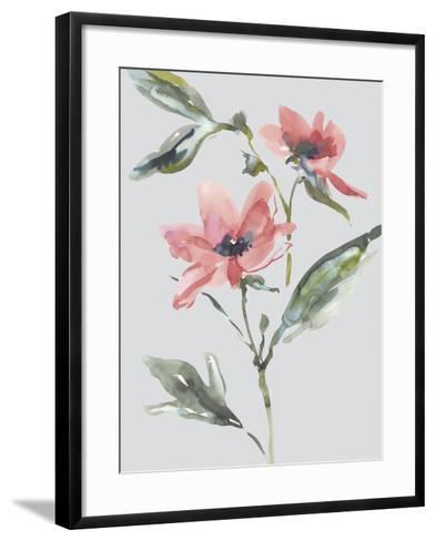 Garden Florals II-Sandra Jacobs-Framed Art Print