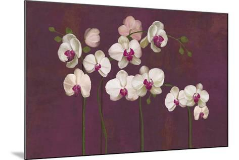 Orchid Dance-Mimi Roberts-Mounted Giclee Print