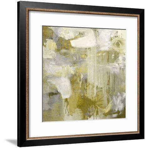 Gold Abstract-Paul Duncan-Framed Art Print