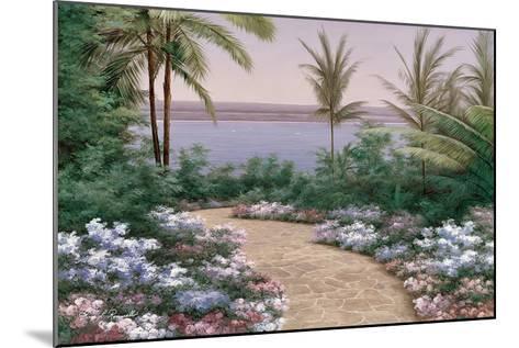 Floral Breeze-Diane Romanello-Mounted Art Print