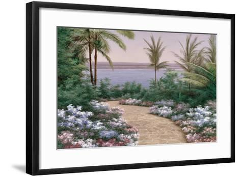 Floral Breeze-Diane Romanello-Framed Art Print
