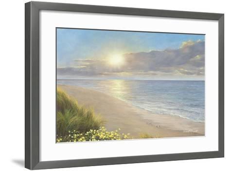 Beach Serenity-Diane Romanello-Framed Art Print