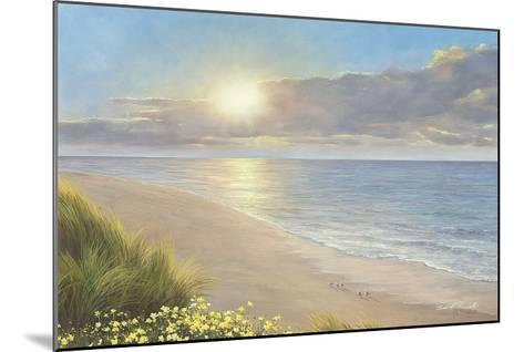 Beach Serenity-Diane Romanello-Mounted Art Print