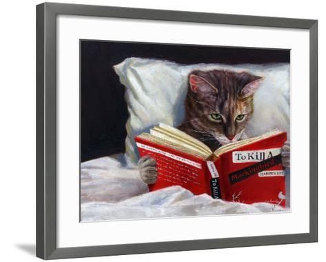 Late Night Thriller-Lucia Heffernan-Framed Art Print