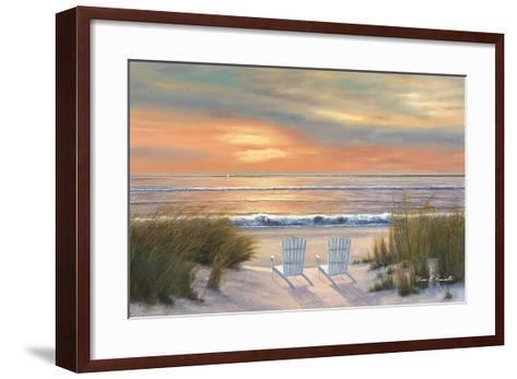 Paradise Sunset-Diane Romanello-Framed Art Print