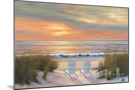 Paradise Sunset-Diane Romanello-Mounted Art Print