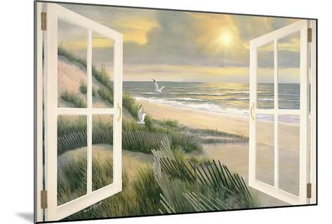 Morning Meditation with Windows-Diane Romanello-Mounted Art Print