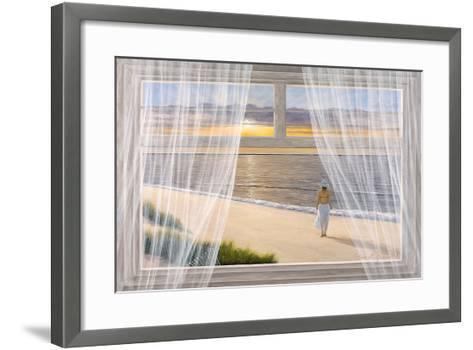 Morning Walk-Diane Romanello-Framed Art Print