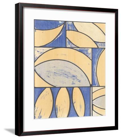 Indigo Complement IV-Charles McMullen-Framed Art Print