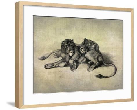 Big Cats III-John Butler-Framed Art Print