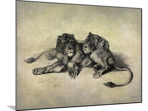 Big Cats III-John Butler-Mounted Giclee Print