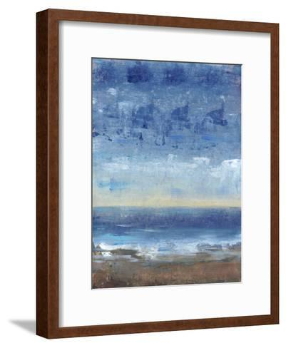 Calm Surf II--Framed Art Print