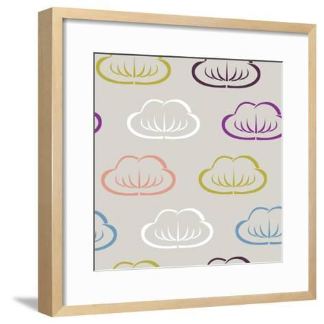 Clouds II-Nicole Ketchum-Framed Art Print
