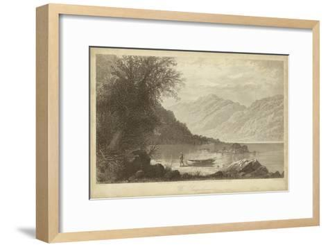 The Susquehana-R^ Hinshelwood-Framed Art Print