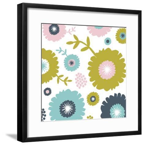 Garden Floral I-Nicole Ketchum-Framed Art Print