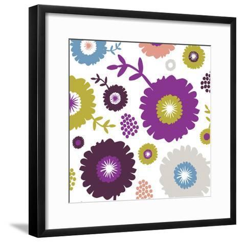 Garden Floral III-Nicole Ketchum-Framed Art Print