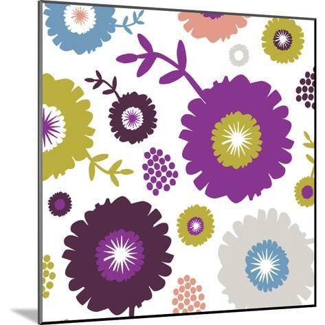 Garden Floral III-Nicole Ketchum-Mounted Art Print