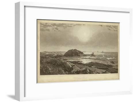 Indian Rock-R^ Hinshelwood-Framed Art Print