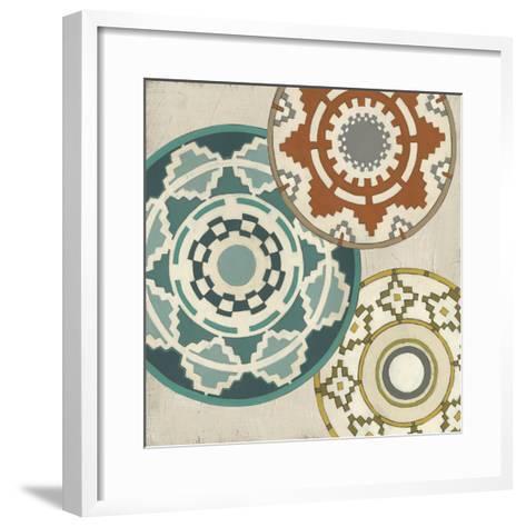 Basket Motif III-June Erica Vess-Framed Art Print