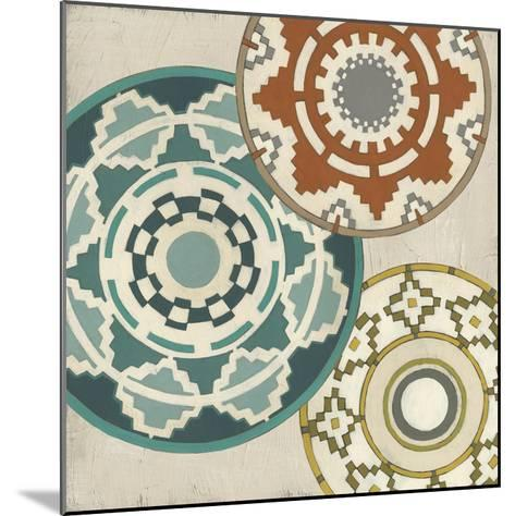 Basket Motif III-June Erica Vess-Mounted Giclee Print