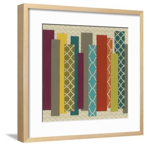 Patternscape III-June Erica Vess-Framed Art Print