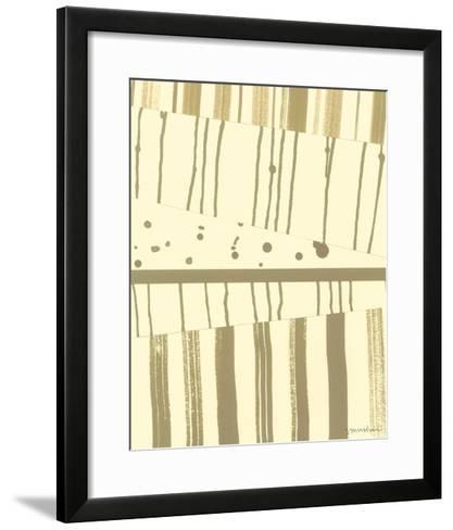 Papyrus Collage I-Vanna Lam-Framed Art Print