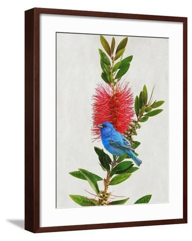 Avian Tropics III-Chris Vest-Framed Art Print