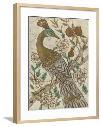 Chinoiserie Pheasant I-Chariklia Zarris-Framed Art Print