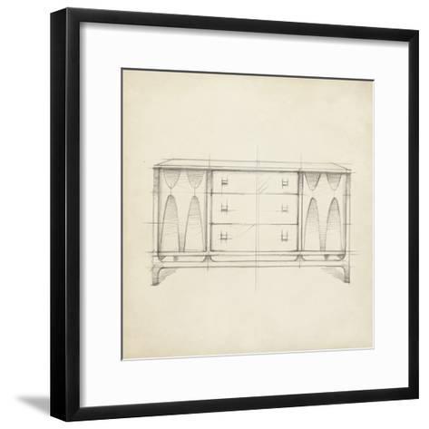Mid Century Furniture Design VIII-Ethan Harper-Framed Art Print