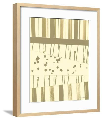 Papyrus Collage II-Vanna Lam-Framed Art Print
