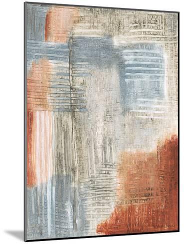 Summer Rust II-Vanna Lam-Mounted Art Print