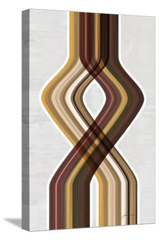 Modern Dance IV-James Burghardt-Stretched Canvas Print