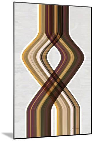 Modern Dance IV-James Burghardt-Mounted Art Print