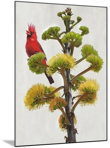 Avian Tropics I-Chris Vest-Mounted Giclee Print