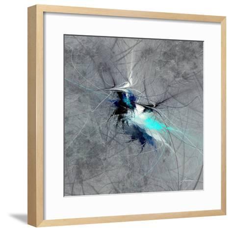Paint Swirl II-James Burghardt-Framed Art Print
