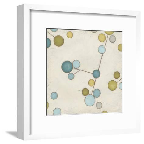 Molecular Blossoms I-June Erica Vess-Framed Art Print