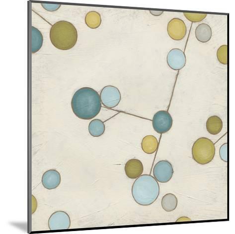 Molecular Blossoms I-June Erica Vess-Mounted Art Print