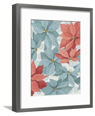 Christmas Poinsettia I-Grace Popp-Framed Art Print
