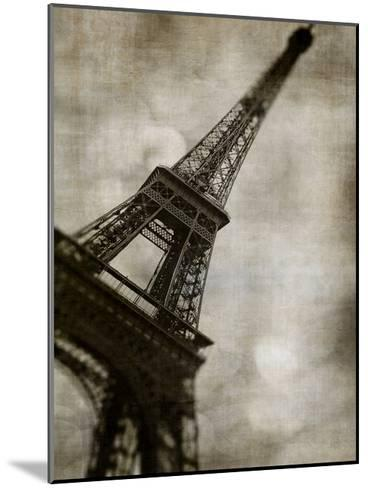 Vintage Eiffel II-Honey Malek-Mounted Art Print