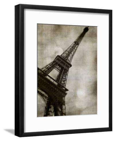 Vintage Eiffel II-Honey Malek-Framed Art Print
