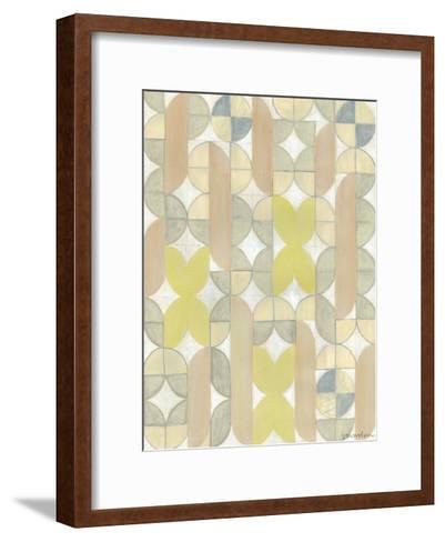 Radius Tile II-Vanna Lam-Framed Art Print