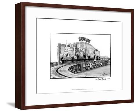For Your Amusement II-Laura Denardo-Framed Art Print