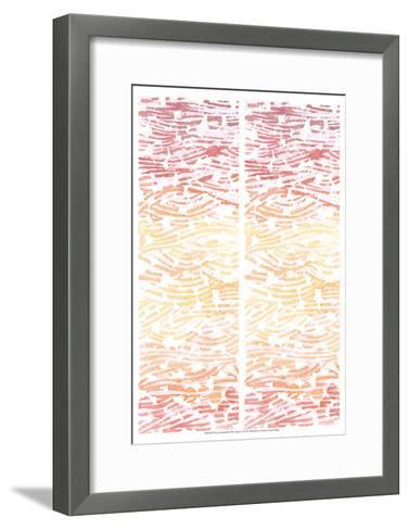 2-Up Summertime River Rocks I-Grace Popp-Framed Art Print