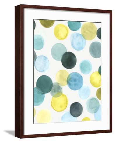 Aquatic Orbit II-June Erica Vess-Framed Art Print
