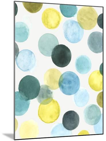 Aquatic Orbit II-June Erica Vess-Mounted Giclee Print