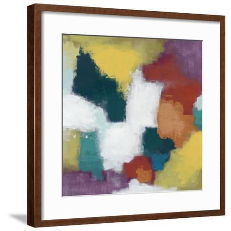 Color Cascade I-June Erica Vess-Framed Art Print