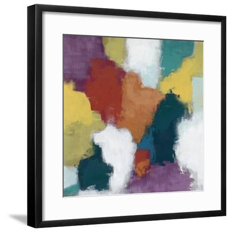 Color Cascade II-June Erica Vess-Framed Art Print