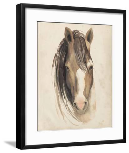 Watercolor Animal Study V-Grace Popp-Framed Art Print