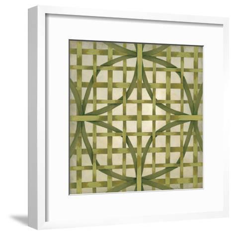 Woven Symmetry V-Chariklia Zarris-Framed Art Print