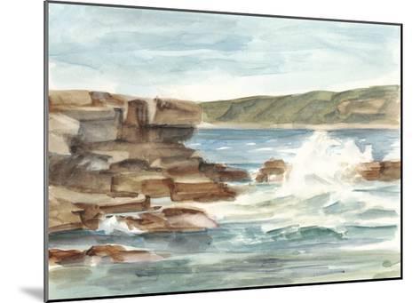 Coastal Watercolor III-Ethan Harper-Mounted Limited Edition
